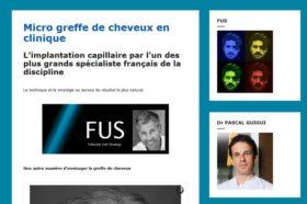 clinique micro greffe cheveux sur Paris