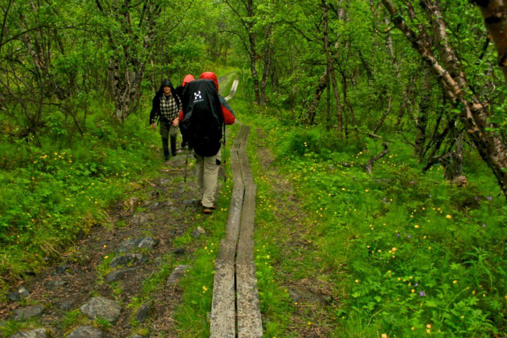 Séjour en Scandinavie, randonnée pédestre